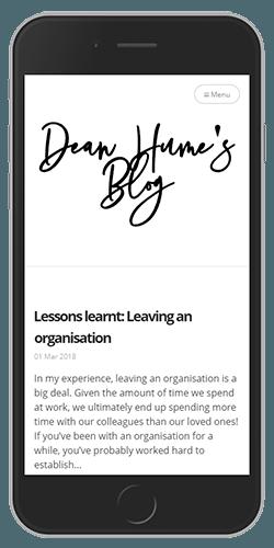 Ghost blog Progressive Web App